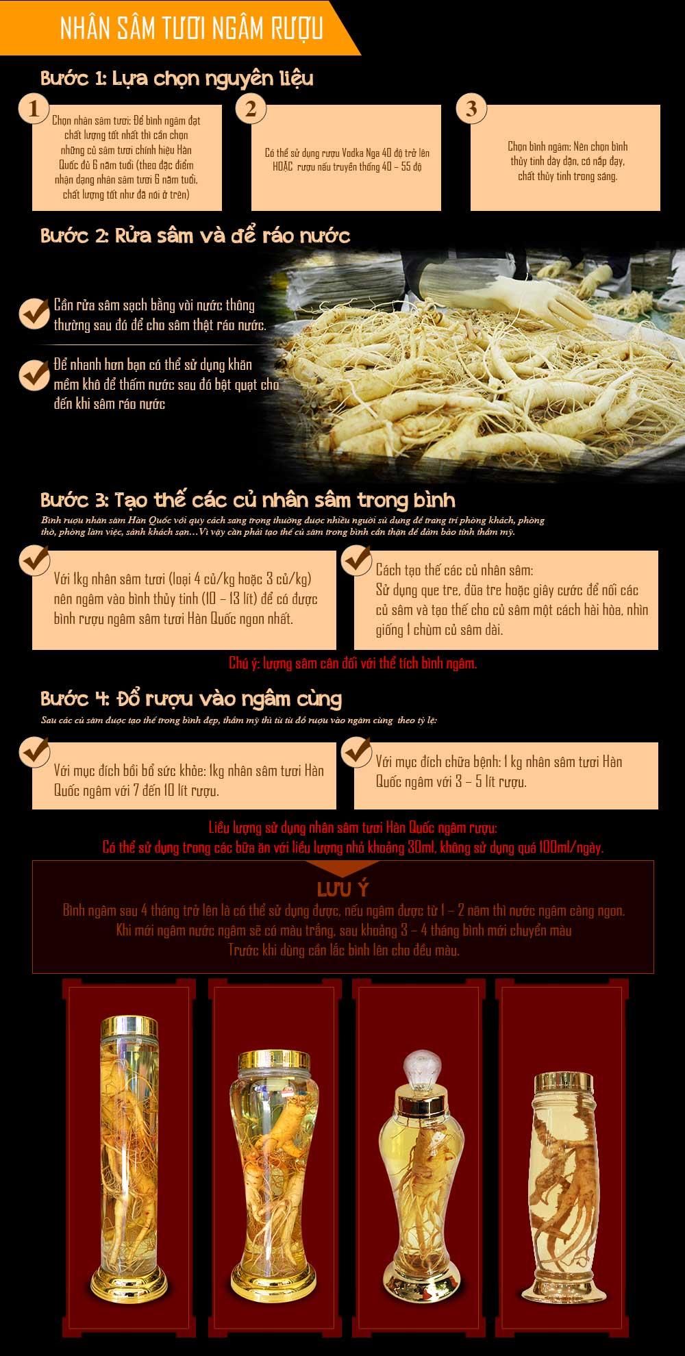 5 Tác dụng tuyệt diệu của nhân sâm Hàn Quốc