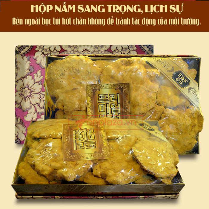 Nấm Linh Chi Thượng Hoàng loại thượng hạng hộp quà biếu (1kg/ hộp) L039